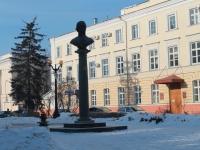 Тамбов, улица Державинская. памятник Г.Р. Державину