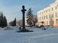 """Тамбов, улица Державинская. сквер """"На Державинской"""""""