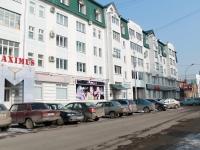 Tambov, st Derzhavinskaya, house 13. Apartment house