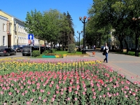 Тамбов, улица Октябрьская. сквер Театральный