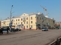 Tambov, st Oktyabrskaya, house 13. Apartment house