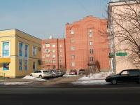 Tambov, st Oktyabrskaya, house 17. Apartment house