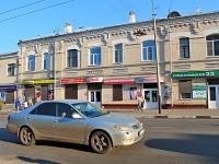 Тамбов, улица Московская, дом 90. жилой дом с магазином