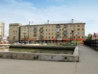 Тамбов, площадь Льва Толстого, дом 4. многоквартирный дом