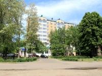 Тамбов, площадь Красноармейская, дом 7. многоквартирный дом