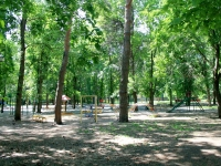 Тамбов, улица Пионерская. парк Пионерский