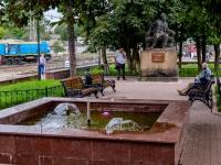Тверь, улица Коминтерна. фонтан