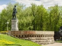 набережная Афанасия Никитина. памятник Афанасию Никитину