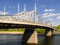 набережная Афанасия Никитина. мост Староволжский мост