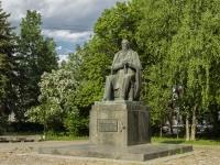 улица Новоторжская. памятник М.Е. Салтыкову-Щедрину