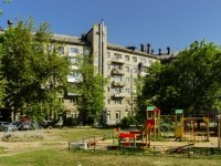 Tver, avenue Pobedy, house 2Б/24. Apartment house with a store on the ground-floor