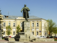 Тверь, улица Советская. памятник В. И. Ленину