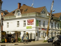 Тверь, улица Тверская площадь, дом 2. жилой дом с магазином
