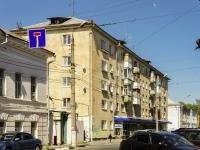Тверь, улица Тверская площадь, дом 6. жилой дом с магазином