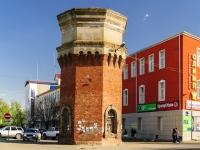 Кимры, улица Володарского. памятник архитектуры Водонапорная башня