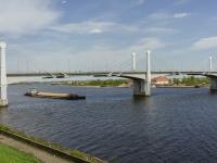 улица Набережная Фадеева. мост мост через реку Волга