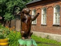 Осташков, Ленинский проспект. малая архитектурная форма Медведь