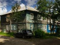 Ostashkov, alley Lunacharsky, house 2А. Apartment house