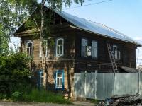 Ostashkov,  Magnitsky, house 91. Apartment house