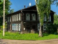 Ostashkov, st Oktyabrskaya, house 12. Apartment house