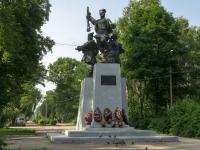 Ostashkov, alley Sovetskiy. monument