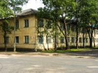 Ostashkov, st Rabochaya, house 27. Apartment house