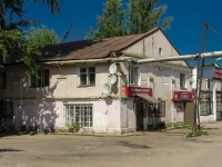 Ostashkov, st Rabochaya, house 33. Apartment house with a store on the ground-floor