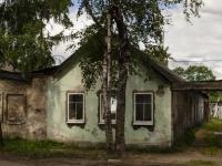 Ostashkov, st Rabochaya, house 4. Apartment house