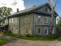 Ostashkov, st Uritsky, house 10. Apartment house