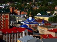 Ульяновск, храм Трех Святителей Великих, улица Гончарова, дом 30А