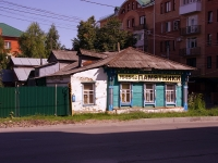 Ульяновск, Красноармейский переулок, дом 1. индивидуальный дом