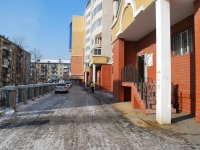 Chita, Lenin st, house 17. Apartment house with a store on the ground-floor