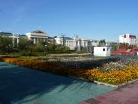 Чита, площадь Ленинаулица Ленина, площадь Ленина