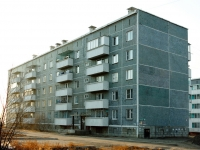 Chita, 6th district, house 38. Apartment house
