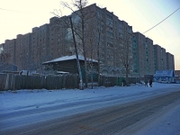 Chita, Zhuravlev st, house 72. Apartment house