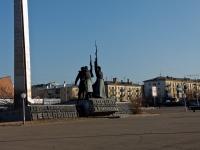 赤塔市, 纪念碑 Борцам за советскую власть в ЗабайкальеRevolyutsii sq, 纪念碑 Борцам за советскую власть в Забайкалье