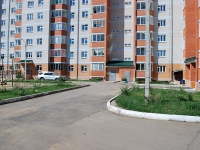 Chita, 4th district, house 16. Apartment house