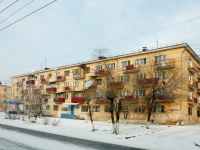 Chita, Novobulvarnaya st, house 6. Apartment house