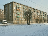 Chita, Chkalov st, house 6. Apartment house
