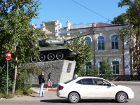 赤塔市, 纪念碑 воинам танковой колонны