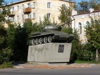 Чита, памятник воинам танковой колонны