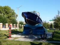 Chita, monument Морякам-пограничникам ЗабайкальяVystavochnaya st, monument Морякам-пограничникам Забайкалья