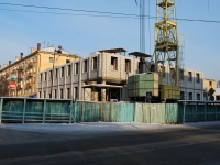 Chita, st Nikolay Ostrovsky. building under construction
