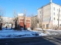 Chita, st Nikolay Ostrovsky. service building