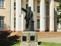 Pereslavl-Zalessky, square Ozernaya. monument