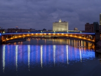 , embankment Smolenskaya. bridge
