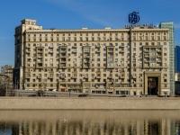 , embankment Smolenskaya, house 12/31. Apartment house