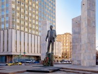 , st Smolenskaya. monument