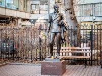 Арбат район, улица Новый Арбат. памятник Е. Вахтангову