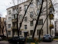 Арбат район, Спасопесковский переулок, дом 3/1СТР2. многоквартирный дом